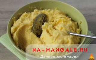 Пюре картофельное: рецепт на выбор и секреты приготовления