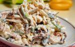 Салат с пекинской капустой и куриной грудкой вареной или копченой: 5 рецептов с фото