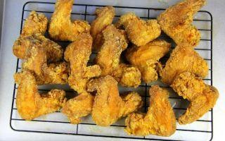 Куриные крылышки во фритюре: рецепт приготовления в кляре