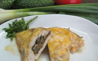 Фаршированные куриные грудки: рецепты с фото для духовки, сковороды или мультиварки