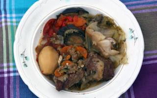 Дымляма по-узбекски в казане с капустой: пошаговый рецепт с фото