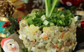 Оливье с грибами – рецепты обычных и постных салатов