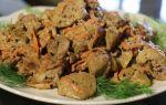 Куриная печень в сметане: рецепты с луком и морковью на сковороде, с луком и сметаной в духовке, с шампиньонами
