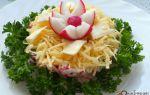 Салат из редиски: простые и вкусные рецепты с фото