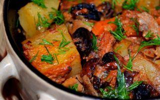 Свинина по-грузински в духовке: простой рецепт с овощами и специями