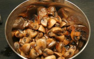 Сколько жарить грибы и какое время нужно варить их перед жаркой