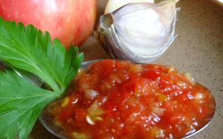 Острые кабачки с помидорами на зиму – рецепт с фото