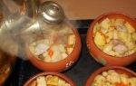 Свинина с картошкой в горшочке: рецепты жаркого в духовке