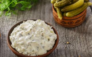 Соус тартар с солеными огурцами в домашних условиях – рецепт с фото
