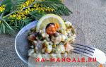 Салат с копченым кальмаром – вкусные рецепты, в том числе постные
