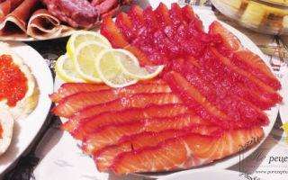 Гравлакс из лосося или семги: рецепты со свеклой и классический