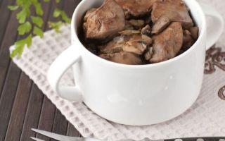 Как и сколько варить куриную печень до готовности: для салата, паштета, в супе