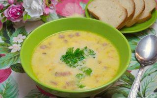Сырный суп: рецепты с плавленым сыром