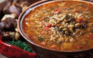 Машхурда (суп машем)