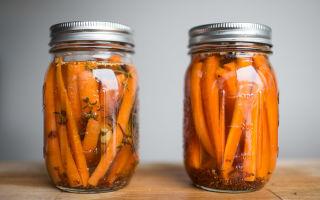 Маринованная морковь на зиму в банках – рецепты заготовки с фото