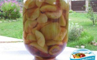 Компот из яблок и слив – разные пошаговые рецепты с фото
