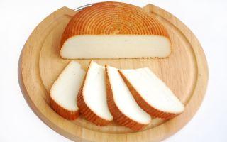 Копчёный адыгейский сыр