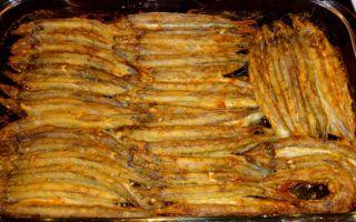 Мойва в духовке – рецепты с фото приготовления запеченной рыбы