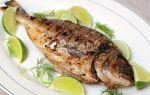 Дорада на гриле – рецепт приготовления рыбы на углях с фото