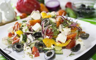 Греческий салат – рецепт классический и оригинальные варианты приготовления