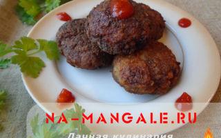 Котлеты из ротанов с салом – рецепт с фото