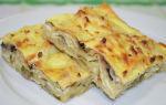 Пирог из лаваша с сыром в духовке – быстрые и вкусные рецепты