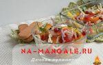 Салат с хурмой: 8 вкусных рецептов с фото пошагово