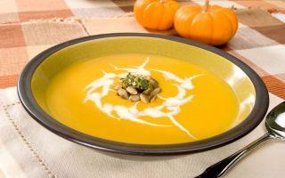 Суп-пюре из тыквы постный: лучшие рецепты приготовления