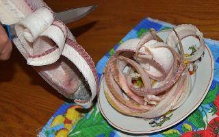 Строганина – северный деликатес