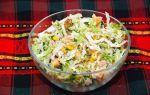 Салат с пекинской капустой и кукурузой: рецепты с майонезом и без